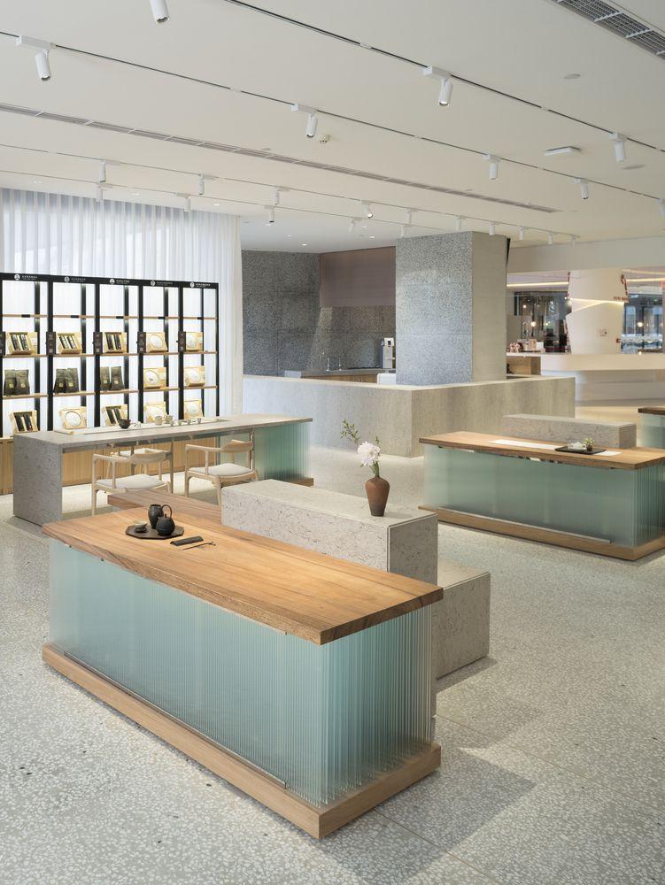 طراحی داخلی چایخانه در چین