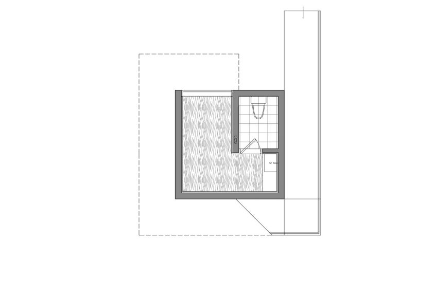 پلان چایخانه دو طبقه مدرن