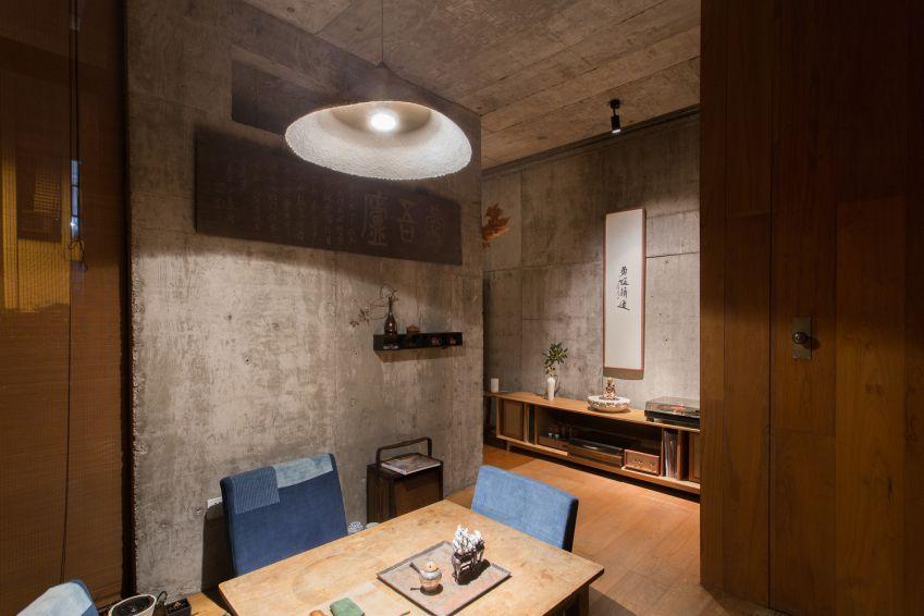 طراحی چایخانه دو طبقه