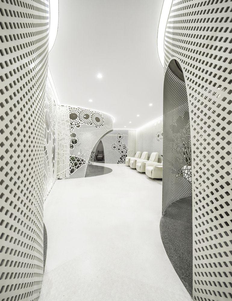طراحی سالن کاشت ناخن در چین
