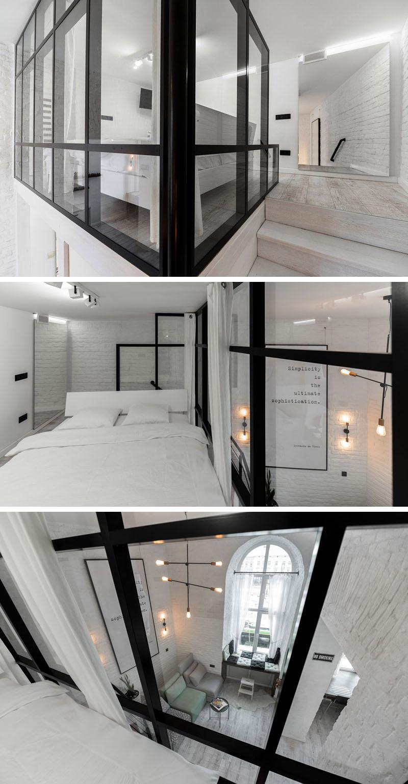دکوراسیون سیاه و سفید آپارتمان