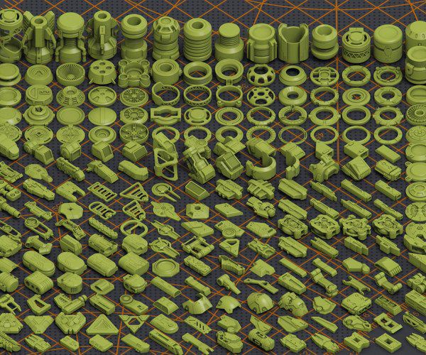 دانلود آبجکت ماشین آلات صنعتی
