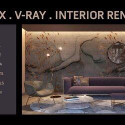 آموزش طراحی داخلی در 3ds Max و V-Ray