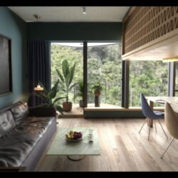 آموزش مدلسازی صحنه داخلی در مایا