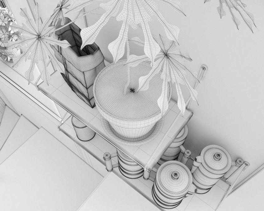 دانلود آبجکت صحنه داخلی