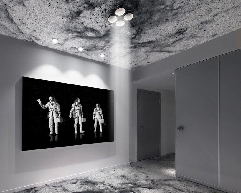طراحی هتل مدرن شبیه به ایستگاه فضایی مجازی
