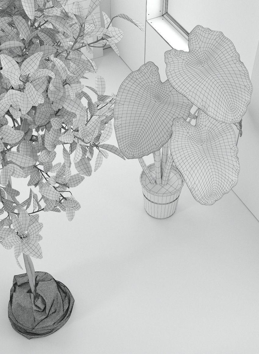 دانلود آبجکت صحنه داخلی نشیمن
