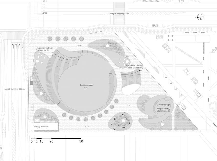 پلان میدان شهری