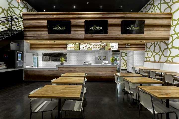 طراحی رستوران مدیترانه ایی