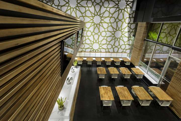 طراحی رستوران دریایی مدرن