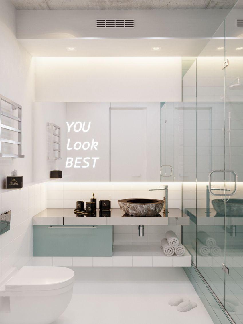 رنگ فیروزه ایی در دکوراسیون آپارتمان