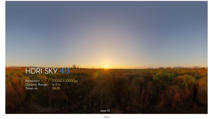 دانلود مجموعه تصاویر HDRI آسمان – ولوم بیستم