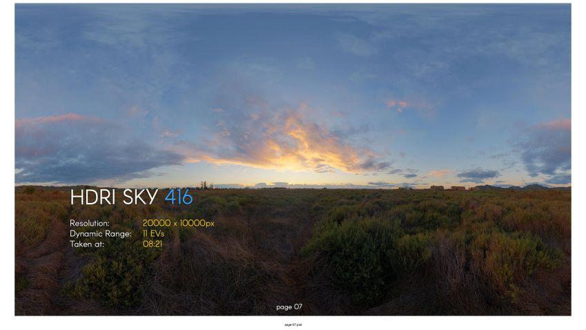 دانلود کالکشن بیستم HDRI Skies