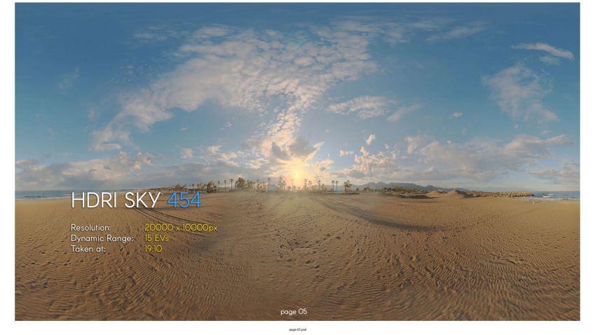 دانلود مجموعه تصاویر HDRI آسمان – ولوم بیست و یکم