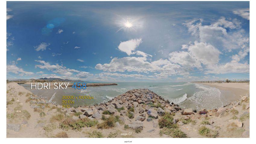 دانلود کالکشن بیست و یکم HDRI Skies