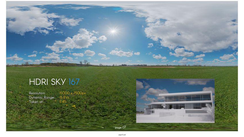 دانلود ولوم نهم تصاویر HDRI آسمان
