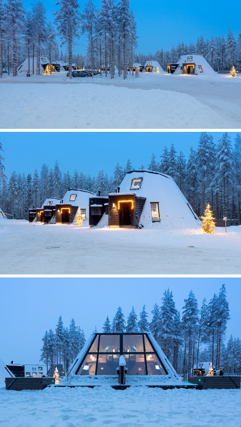 طراحی هتل زمستانی