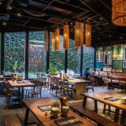 طراحی رستوران آسیایی در ویتنام