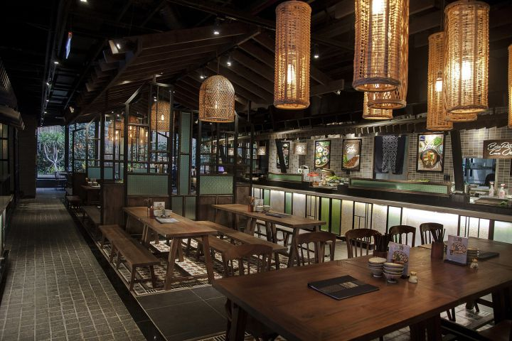 طراحی رستوران آسیایی