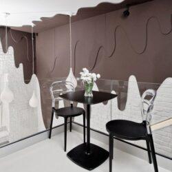 طراحی کافه و فروشگاه شکلات در لهستان