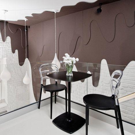 طراحی کافه و فروشگاه شکلات