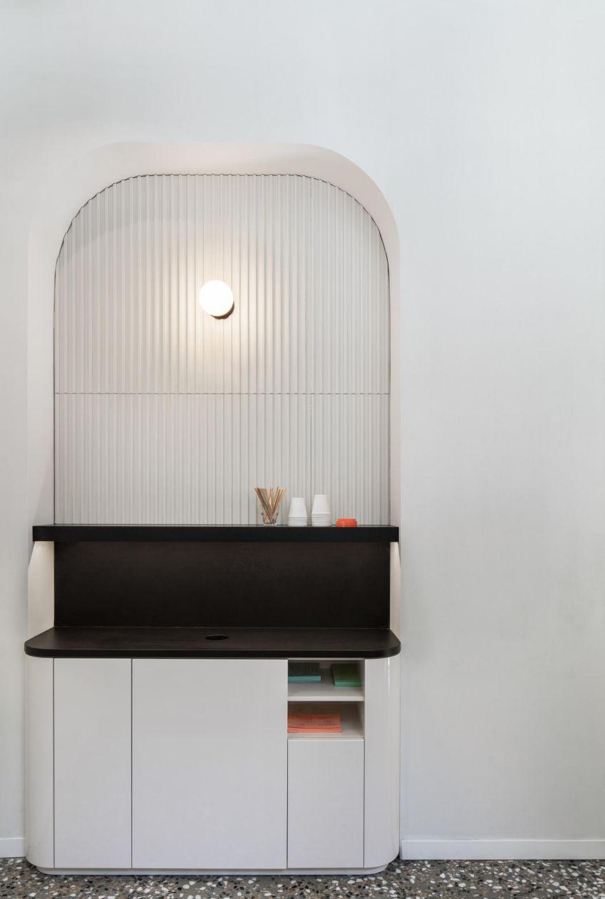 آرک در طراحی داخلی رستوران