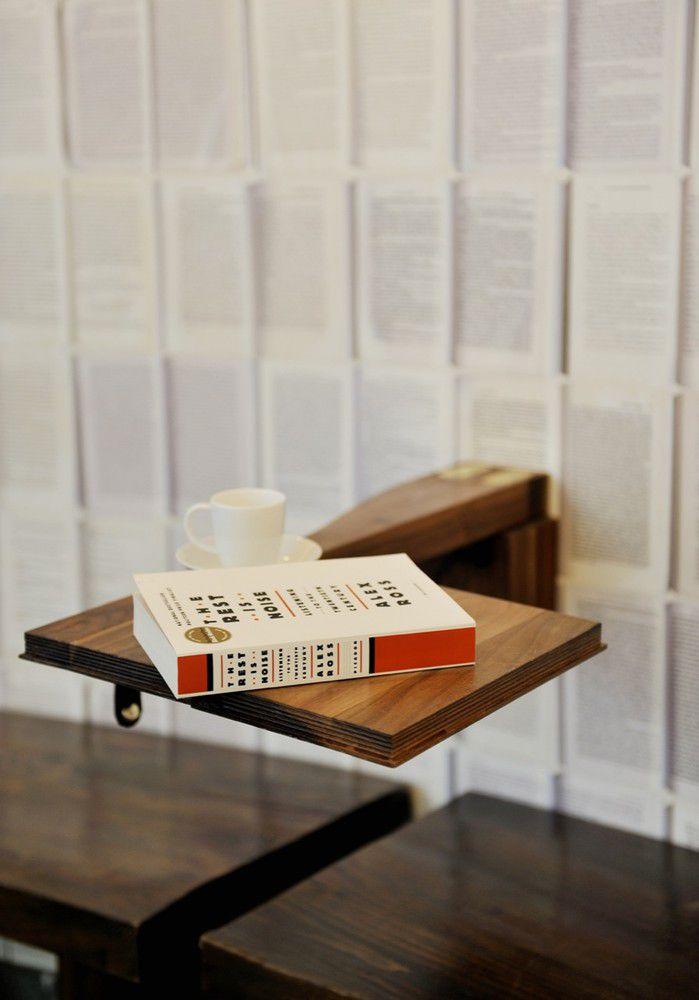 طراحی کافه کتاب در نیویورک