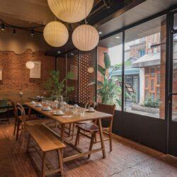 طراحی رستوران به سبک روستیک