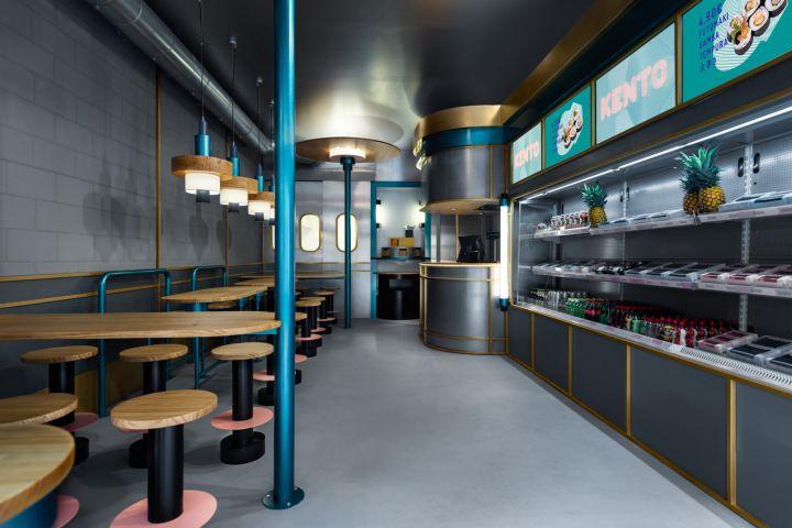 طراحی رستوران سوشی