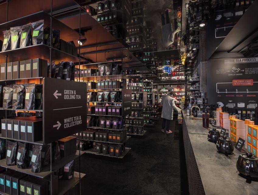 طراحی فروشگاه چای و دمنوش