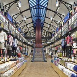 طراحی فروشگاه لباس در لندن