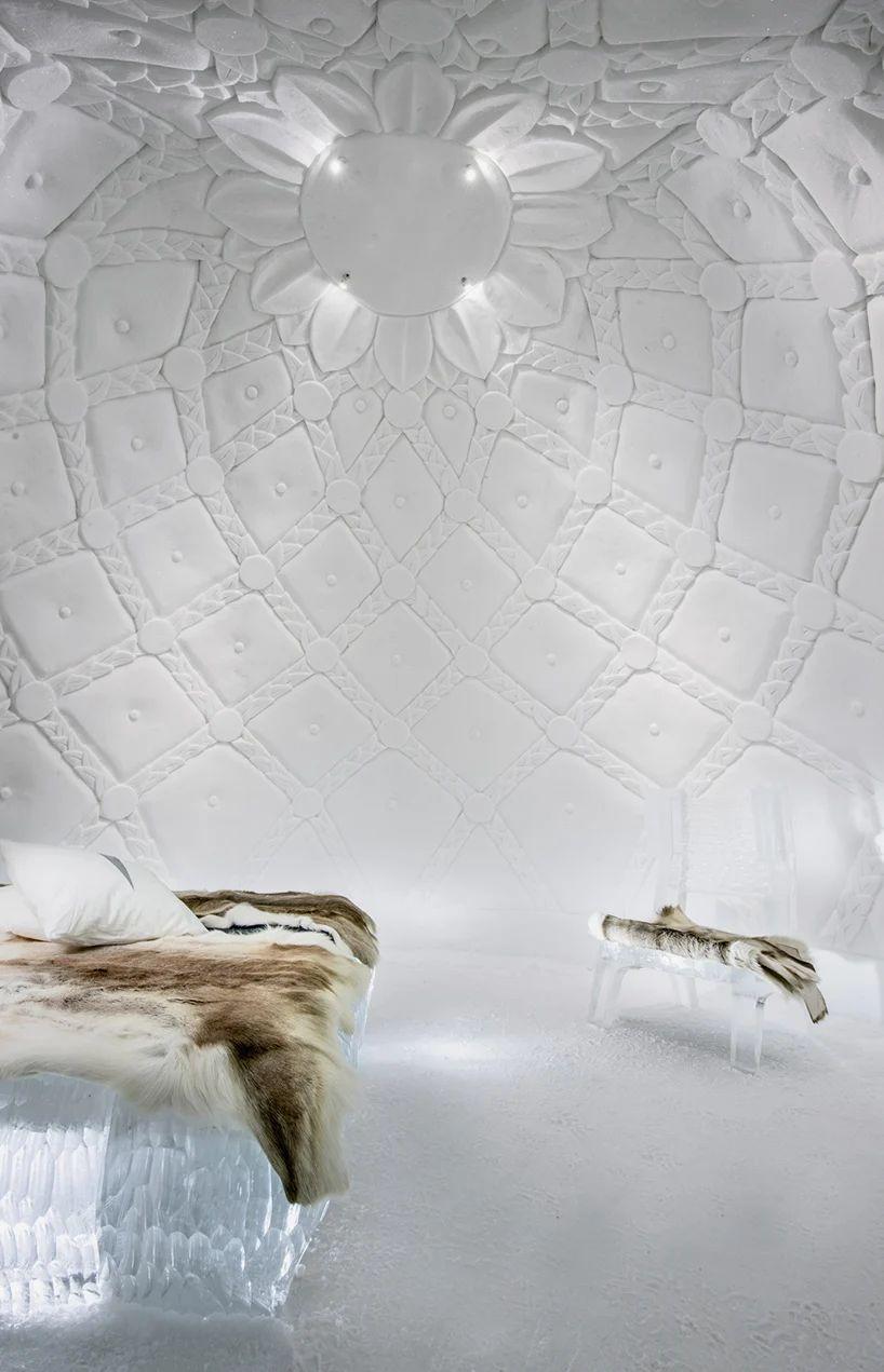 طراحی هتل یخی در سوئد