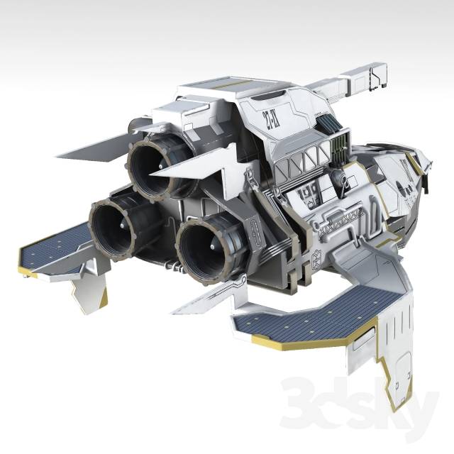 آبجکت سفینه فضایی
