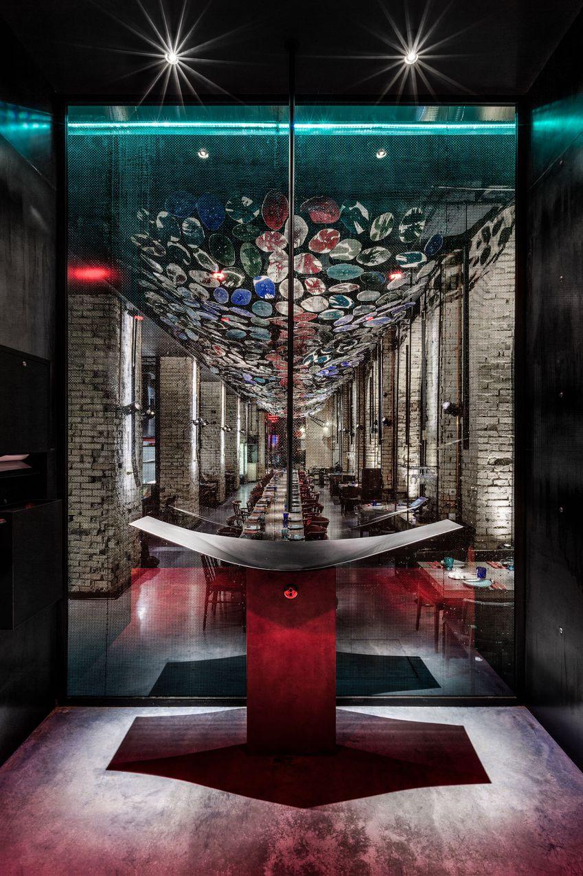 دکوراسیون رستوران چینی