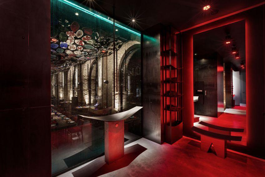 طراحی داخلی رستوران چینی