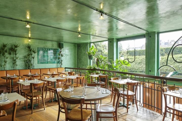 طراحی رستوران به سبک استوایی