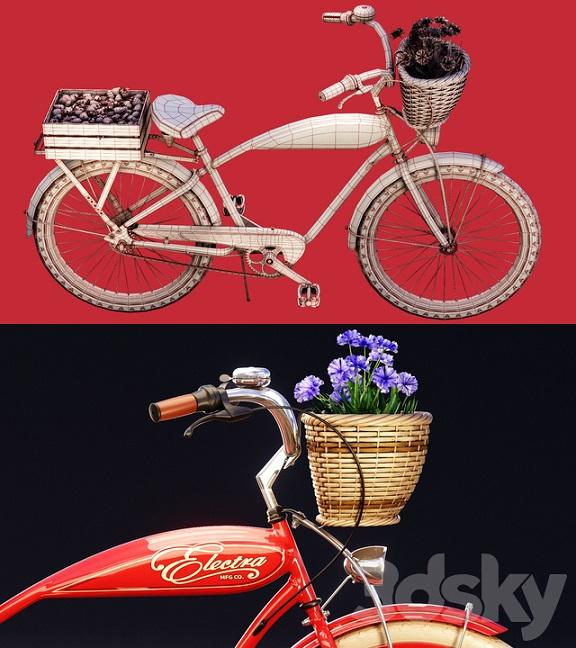 مدل سه بعدی دوچرخه