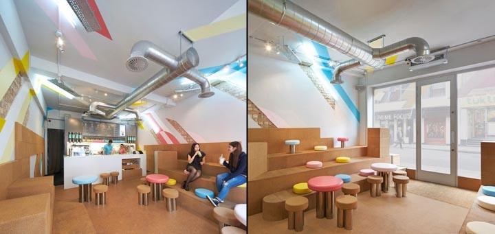 طراحی اتاق چای در لندن