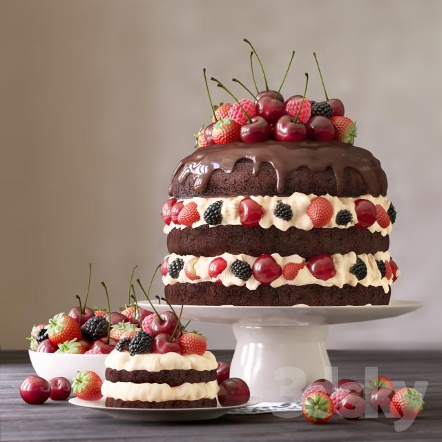 آبجکت کیک و بسکویت