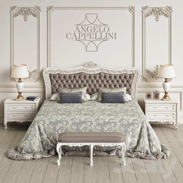 آبجکت تختخواب کلاسیک
