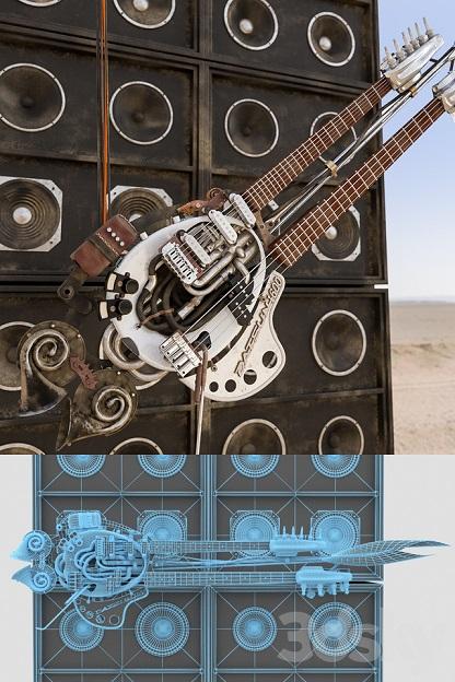 آبجکت گیتار برقی