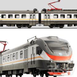 دانلود آبجکت قطار برقی از Pro 3DSky