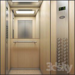 دانلود آبجکت آسانسور از Pro 3DSky