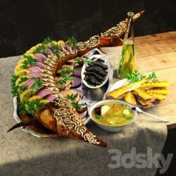 دانلود آبجکت غذا از Pro 3DSky