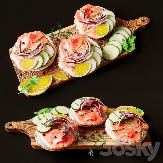 دانلود 16 مدل سه بعدی غذا