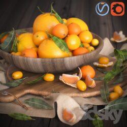 دانلود آبجکت میوه از Pro 3DSky