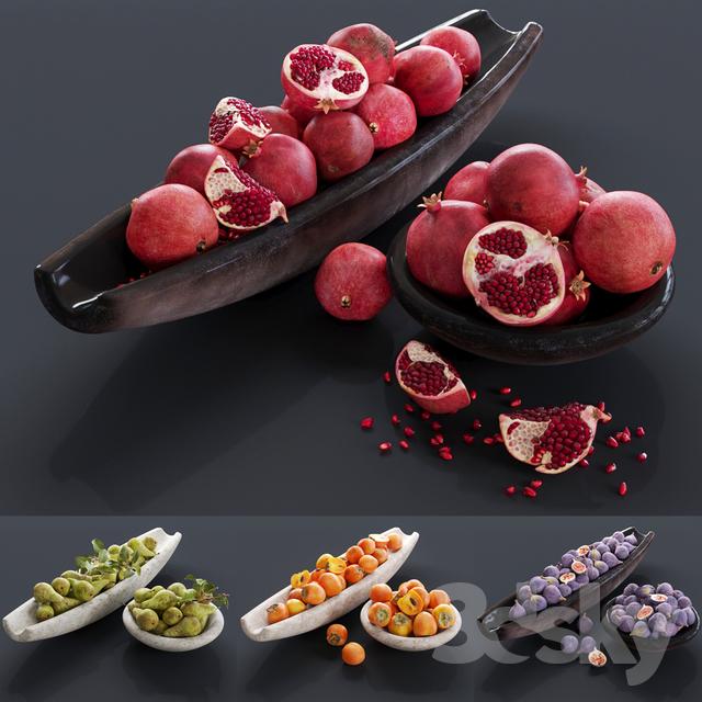 مدل سه بعدی میوه