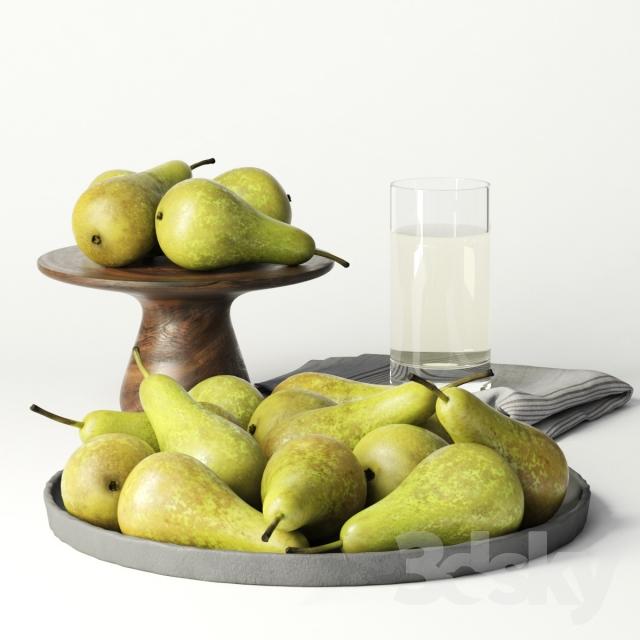 دانلود 14 آبجکت میوه از Pro 3DSky