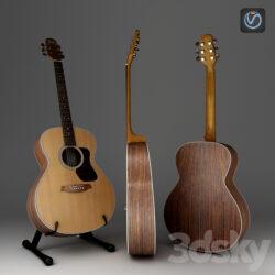 دانلود آبجکت گیتار از Pro 3DSky