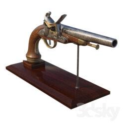 دانلود آبجکت اسلحه از Pro 3DSky